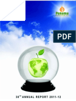 panama petroleum 2012 annual report india corporate
