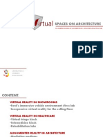 Influence of Virtual Spaces on Architecture
