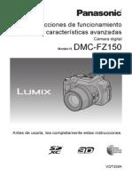 Instrucciones Camara FZ150