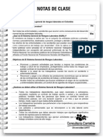 Nota de Clase n.116 Sistemas de Riesgos Laborales