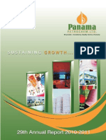 Panamapanama petroleum 2011 annual report india corporate