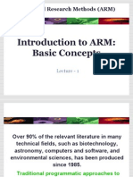 ARM Lecture 1