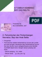 Pemantauan Tumbuh Kembang Bayi