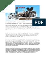 Syarat Dan Ketentuan International Animal Photo Competition 2015