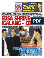Pinoy Parazzi Vol 8 Issue 106 August 31 - September 01, 2015