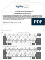 Gujarati and Hindi Phonetic Keyboard Layout - Gujarati Typing