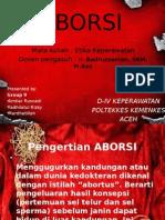 PPT Etika Keperawatan tentang Aborsi