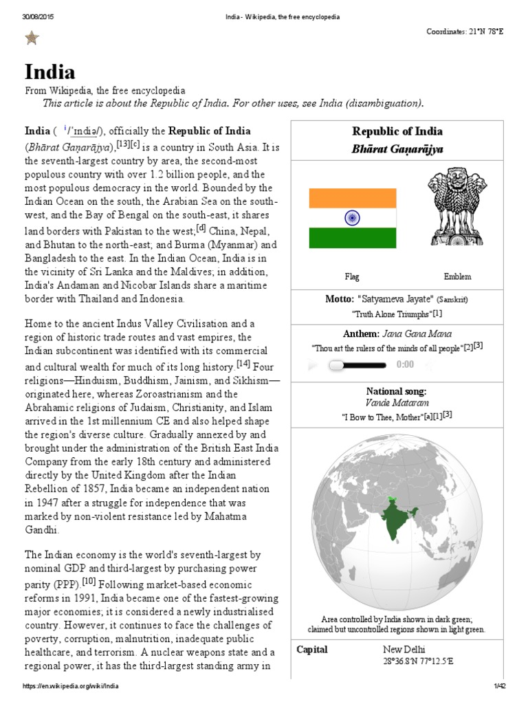 India Wikipedia The Free Encyclopedia Mughal Empire Indian