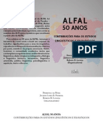 ALFAL 50 Anos Contribuições Para Os Estudos Linguísticos e Filológicos 2015