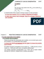 Cours S4 Chapitre 5 Reaction Chimique