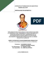 Psp Recursos Tecno-didacticos Porfidio-ivan Mate 5to