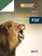 QS WUR Supplement2014