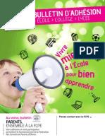 Bulletin Adh 2014