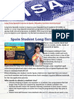 Visa for Spain Requirements for Long Term Stay or Study Spanish in Spain