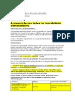 A prescrição nas ações de improbidade administrativa.docx