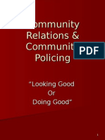 Community Relations & Community Policing