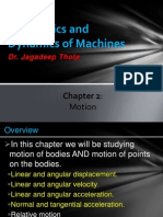 Lecture 9 10 Ch02 Motion