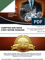 Trouver un comptable sur la Côte-de-Beaupré