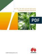 HUAWEI AR120 AR150 AR160 AR200 Series Enterprise Routers Datasheet