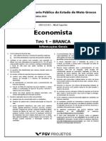 Fgv 2015 Dpe Mt Economista Prova