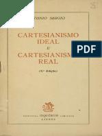 SÉRGIO, Antonio - Cartesianismo Ideal e Cartesianismo Real
