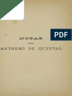 SÉRGIO, Antonio - Notas Sobre Os Sonetos e as Tendencias Geraes Da Philosophia