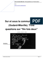 Entretien Gilles Delleuze