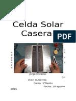 Celda Solar (Revisado)