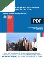 Políticas Públicas y El Desafío Del Envejecimiento