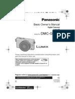 Dmc Gm1k 01 Owners Manual