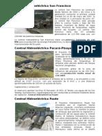 Central Hidroeléctrica DEL ECUADOR