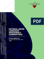 national maori language proficiency examinations3