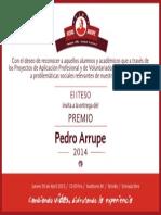 premio pedro arrupe 2014
