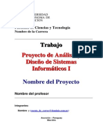 Proyecto Final Formato