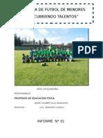 Academia Municipal de Futbol Condebamba