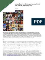 Article   Descargar Juegos Para Pc, Descargar Juegos Gratis Para Pc, Juegos Gratis Para Pc, Descarga (23)