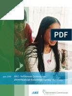 New Zealand 2009 Financial Knowledge Survey