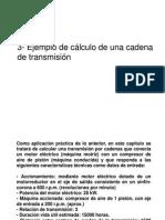 Ejemplo Calculo Cadena