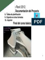 Curso Revit 2012 - Tablas de Planificación