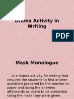 Drama Activity in Writing
