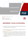 Ehs Training Claro Account 27 de Aug 2015