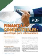 Fiananzas conductuales, un enfoque para latinoamérica.