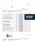 Cronorama 2015 - 2016 Primaria