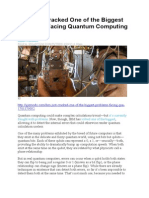 2015-04-30 IBM Just Cracked One of the Biggest Problems Facing Quantum Computing