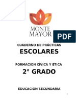 CUADERNO DE PRACTICAS ESCOLARES 2° GRADO FORCE