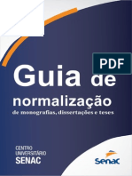 Guia Normatizacao para trabalhos Senac SP