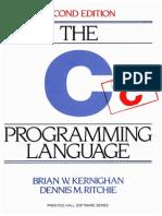 The c Porogramming Language 2nd Edition.8943347124 Copy