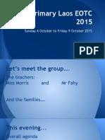primary laos eotc information tuesday 25 aug 2015