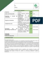 Lista Chequeo Proyecto Formativo SFPMS