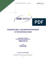 Financing SME in the Eu Union-SME UNION